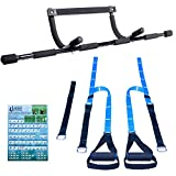 Ultimate Body Press Doorway Pull up Bar & Bodyweight Resistance Trainer