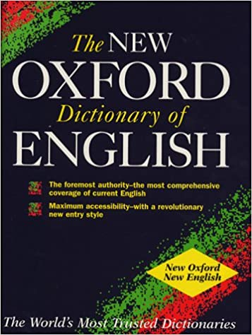 oxford dictionary  The New Oxford Dictionary of English: Amazon.: OUP, Judy ...