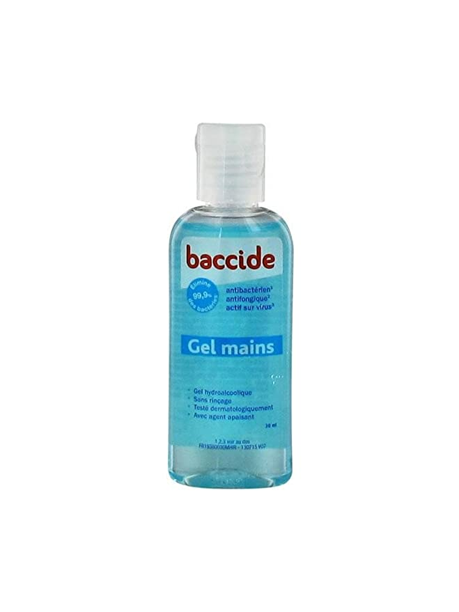 Baccide Rinseless Hands Gel 30ml Amazon Co Uk Health Personal Care