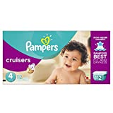 Pampers Cruisers Diapers Size 4, Giant Pack, 112 Count