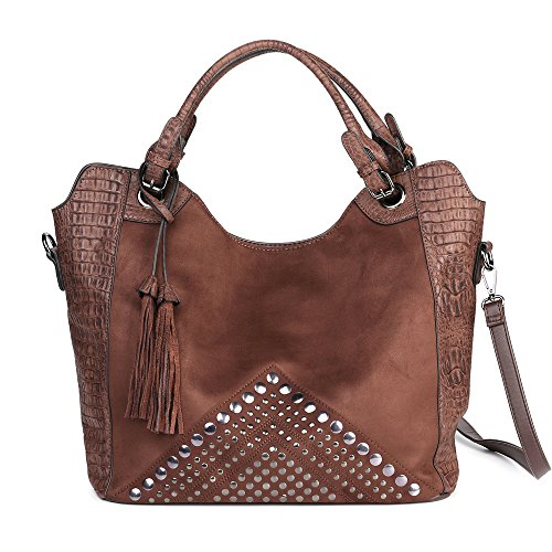 Leather Fashion Designer Handbags - 2