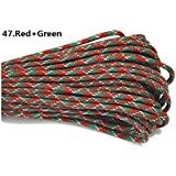 100ft 550 Paracord Parachute Cord Lanyard Mil Spec Type III 7 Strand Core (Color 47)