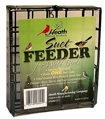 Heath Manufacturing S-1-8 Single Hanging Suet Feeder