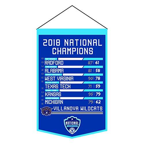 - NCAA Villanova Wildcats 2018 NCAA Championship 'Road to Champs' Printed Banner