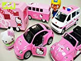 Clip: Hello Kitty Car Toys Camping Bus And Ambulance Pororo Robocar Poli Toys