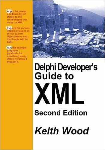 Delphi Developers Guide to XML