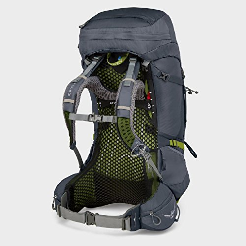 Osprey Packs Osprey Pack Atmos Ag 65 Backpack, Abyss Grey, Large