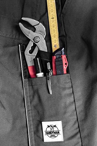 ACE Handyman Pantalon de Travail – Pantalons de Sécurité avec Poches Genouillères – pour Homme et Femme