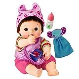 ぽぽちゃん お人形 やわらかお肌のちいぽぽちゃん ごくごくミルク&ぞうさんタオルつき