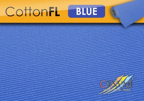 Canvasi Blau COTTON - XXL - Bespannte Bespannte Bespannte Keilrahmen Größe 155x300cm  B01BH0YL2Y | Charakteristisch  15f265