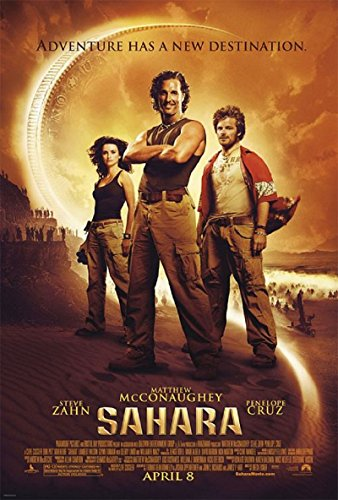 Sahara 2005 D/S Advance Rolled Movie Poster 27x40