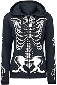 3D Hoodie Human Skeleton Skull Sweatshirt Jacket Pullover Tops Couple Long Sleeve for Girls Women