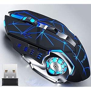 ワイヤレス マウス ゲーミングマウス Lakko 無線マウス 超静音