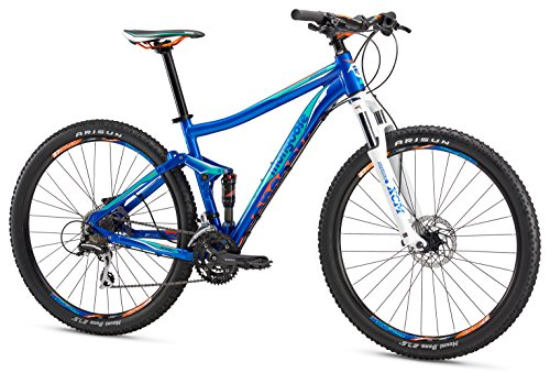 Mongoose Salvo Sport 27.5' Wheel Mountain Bicycle, Blue, 19.5'/Large