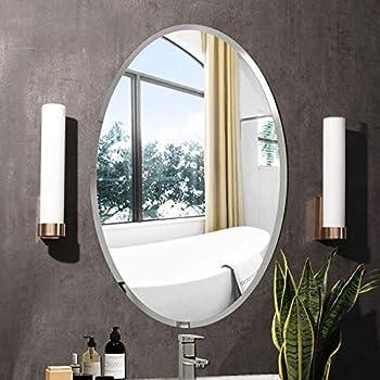Amazon Com Led Front Lighted Bathroom Vanity Mirror 32