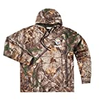 NFL Pittsburgh Steelers Boys Champion Realtree Xtra Polyester Tech Fleece Full Zip Hoodie, X-Large, Camo