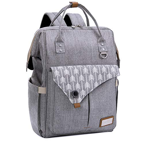 1c1f9ba8b Lekebaby Diaper Bag Backpack with Stroller Straps and Changing Pad ...