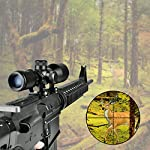 CVLIFE 3-9x40 Compact Rifle Scope Crosshair Reticle with Free Mounts for Quick Aiming and Shooting