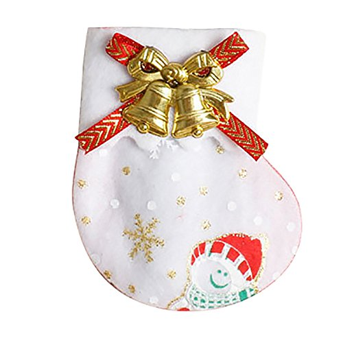 TWGONE Christmas Decorations Clearance Sale Ornaments Dinnerware Cover Candy Bags Xmas Fork Tableware Bag(108cm,B) ()
