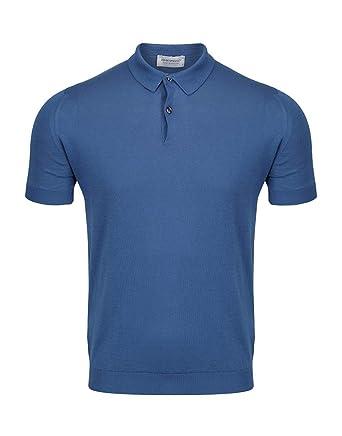 47ccc903882b John Smedley Men's Rhode Sea Island Cotton Polo at Amazon Men's ...