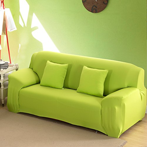 KKONION Solid Color Stretch Sofa Cover Elastic Seat Couch