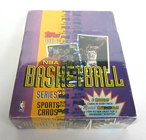 (1993/94 Topps Basketball Series 2 Rack Box)