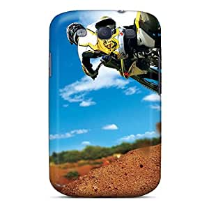 Hot Snap-on Motocross Stunt Hard Cover Case/ Protective Case For Galaxy S3