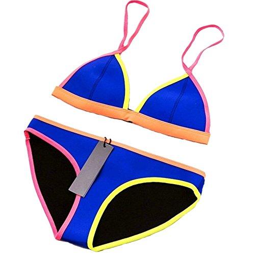 CIKINI Womens Neoprene Triangle Bathing product image