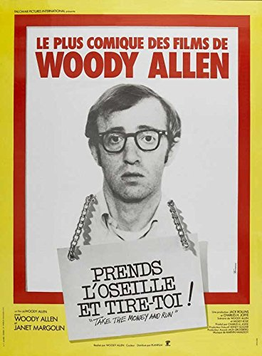 Hire the Money and Run Poster French 27x40 Woody Allen Janet Margolin Marcel Hillaire