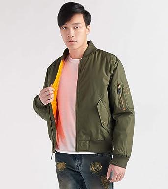 bd255b9d6 Decibel Mens Nylon Solid Filled Jacket Green at Amazon Men's ...