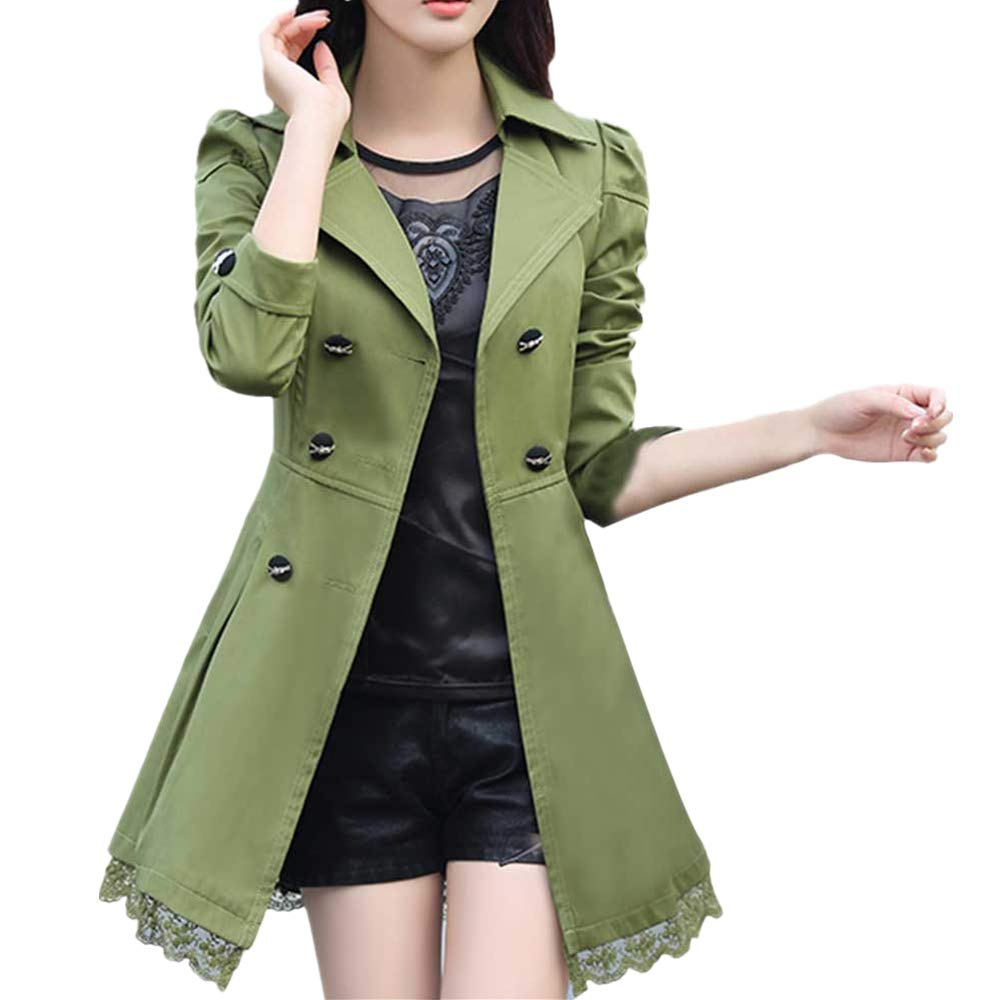 133f63a702bc5 Amazon.com  Women Fashion Turn-Down Collar Coat