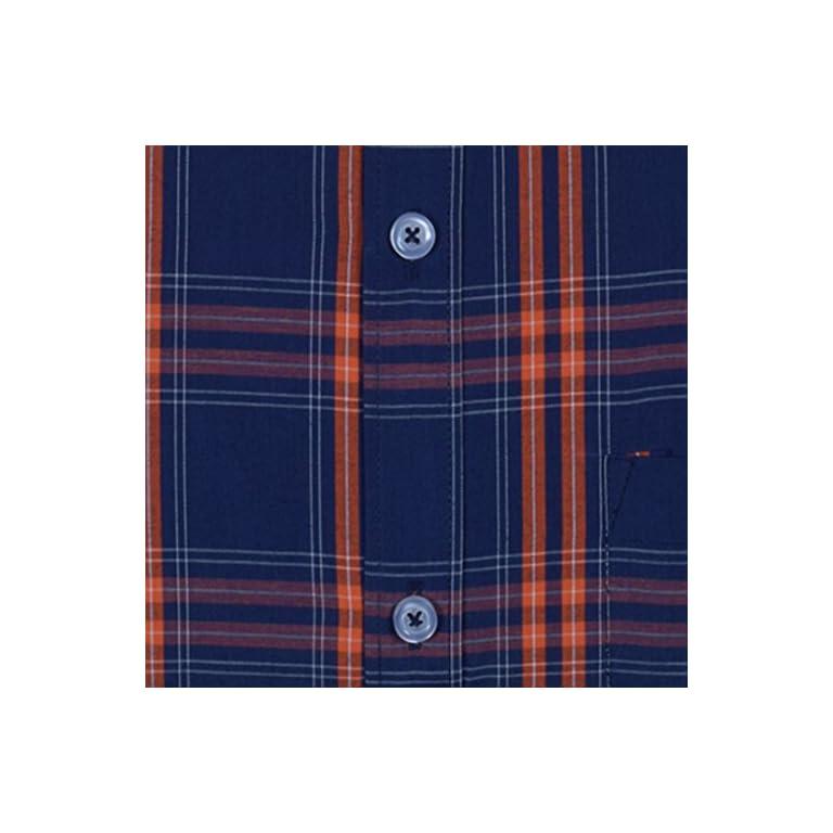 51H2fH457BL. SS768  - ACCOX Men's Regular Fit Formal Shirt