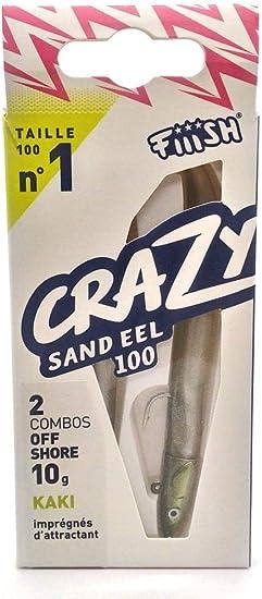 Crazy Sand Eel Fiiish Lures CSE100 Combo Nº1 - Señuelo Blando de ...