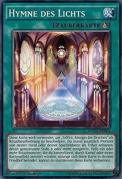 deutsch 1 NIFAERA Spielwaren Hymne des Lichts Yu-Gi-Oh Auflage DUEA-DE063