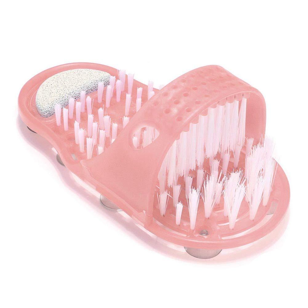 ZREAL - Cepillo de Limpieza para pies fácil de Limpiar, Zapatillas de Limpieza, sin Tope para baño o Ducha.: Amazon.es: Hogar