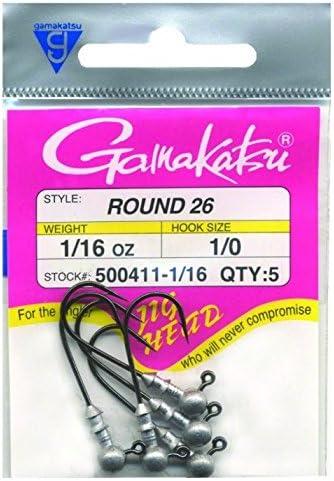 Gamakatsu 500411-1//16 Round 26 Jighead