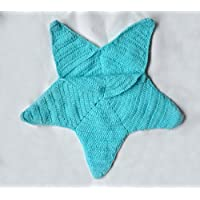 Newborn Baby photograHandmade Crochet Knitted Baby Photography Prop Costume Set Starfish EZ48