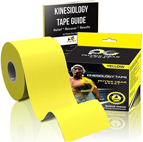 Yellow Kinesiology Tape Pro 2