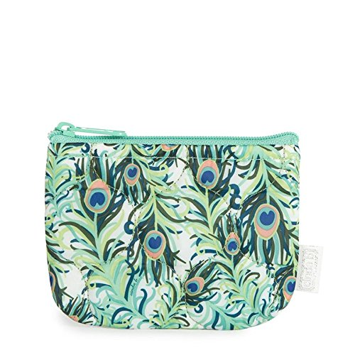 cinda b. Coin Pouch, Purely Peacock