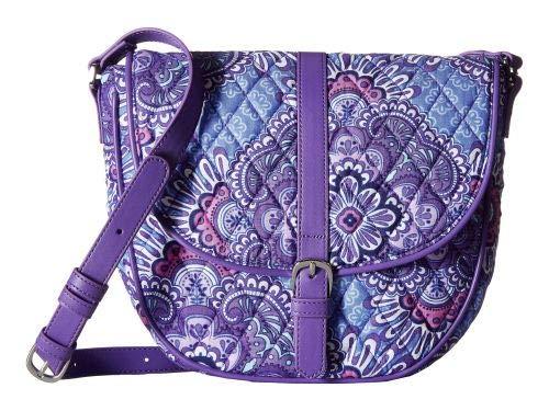 Vera Bradley(ベラブラッドリー) レディース 女性用 バッグ 鞄 バックパック リュック Slim Saddle Bag - Lilac Tapestry [並行輸入品]   B07HV8QR3G