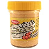 PowerBait FW Natural Salmon Egg Scent Glitter Trout Fishing Bait (Salmon Peach), Outdoor Stuffs