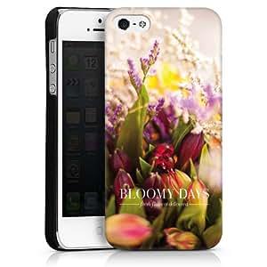 Carcasa Design Funda para Apple iPhone 5 HardCase black - COUNTRY AFFAIR