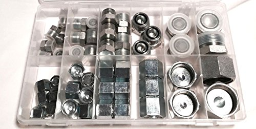 (AF KIT-ORF - O-Ring Face (ORF) Cap and Plug Kit - 50 Piece)