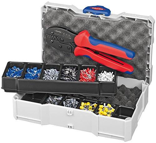 Knipex 97 90 23 Crimp Assortments 0,5-6mm with Crimping Pliers by KNIPEX Tools