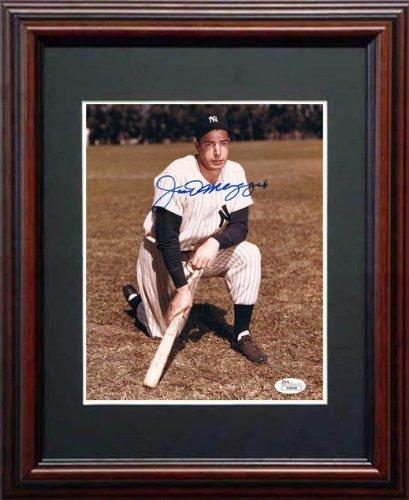 - Joe DiMaggio JSA Signed Framed Photo-8x10