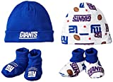 Gerber Childrenswear NFL Print Cap & Bootie Set(4 Pack)