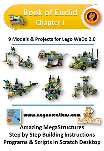 Book of Euclid Chapter I: 9 Models & Projects for Lego WeDo 2.0 por SPYRIDON MATSIKAS