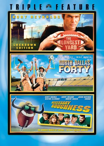 Football Triple Feature (The Longest Yard / North Dallas Forty / Necessary Roughness) by Paramount