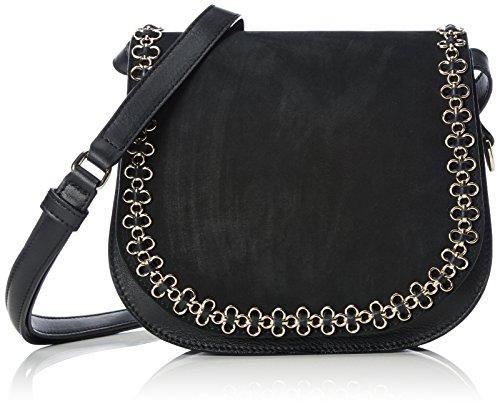 kaviar gauche Women's Petite Bag w.flower chain Cross-body Bag
