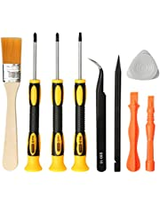 E·Durable Cleaning Repair Tool Kit for PS3 PS4 PS5 Complete Screwdriver Set - PS4 Security Torx Screwdriver T9(TR9) Phillips PH0 PH1(PS3/4/5)